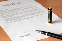 kaufvertrag hauskauf notarvertrag unterschrift